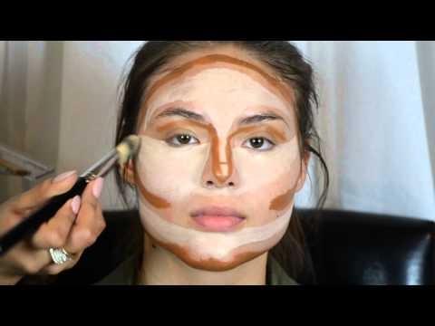 Countouring makeup per viso rotondo