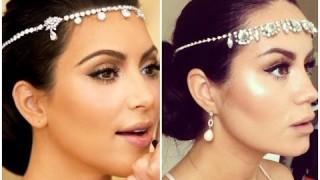 Trucco sposa ispirato a Kim Kardashian