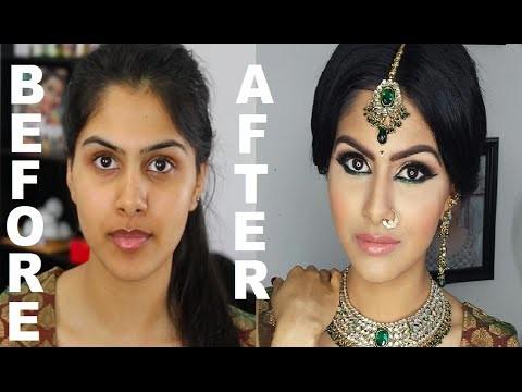 Trucco da sposa indiana stile Bollywood