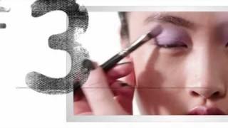 Smokey eye leggero ombretto colore pastello