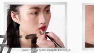 Come applicare un rossetto di due colori