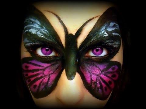 Tutorial Trucco viso Farfalla