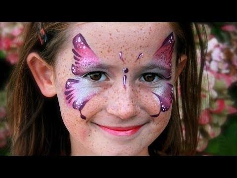 Trucco bambina da farfalla