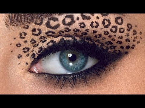 Occhi da leopardo per Carnevale