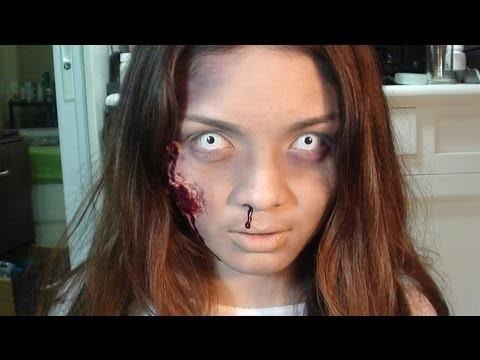 Makeup horror zombie