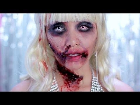 Makeup da Zombie Barbie