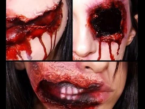 Effetti speciali trucco Halloween stile zombie