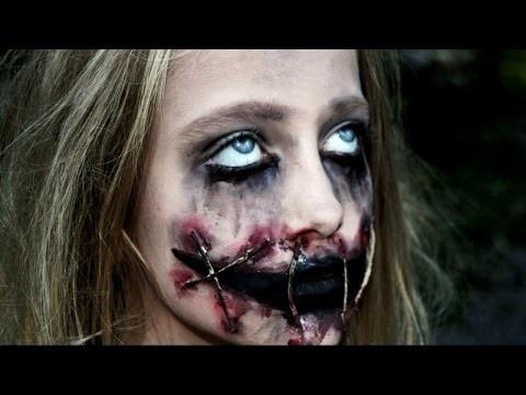 Trucco Halloween horror per bambina