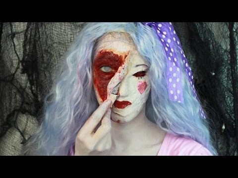 Tutorial Creepy Doll Halloween