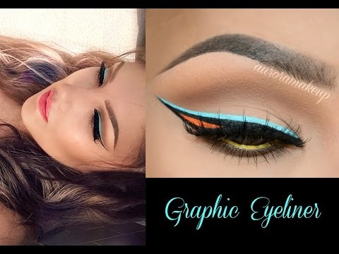 Come applicare l'eyeliner di 3 colori