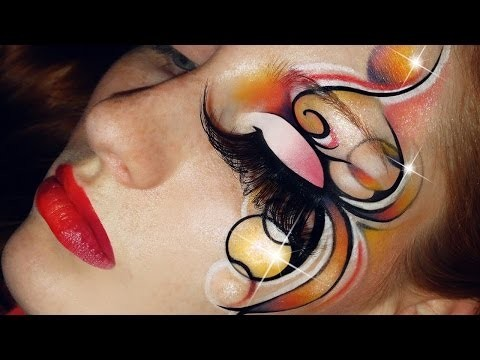Makeup artistico creativo per carnevale