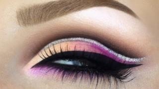 Makeup grafico con eyeliner