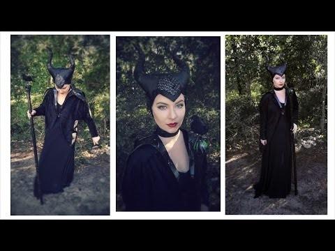 Costume e makeup da strega malefica