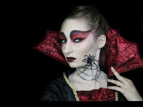 Tutorial trucco di Halloween e costume da regina dei ragni