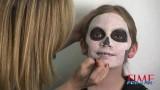 Trucco di Halloween bambini da scheletro