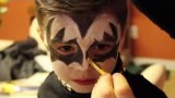Tutorial trucco Halloween bambino