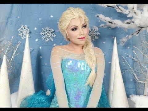 Makeup tutorial e costume da Elsa di Frozen facile