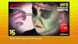 Truccabimbi da mostro tipo maschera Frankenstein