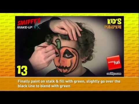 Zucca Halloween per bambini piccoli