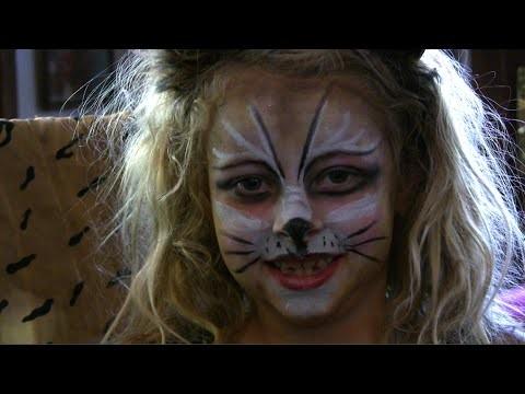 Truccabimbi maschera da gatto