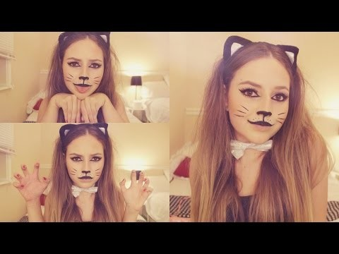 Facilissimo makeup e costume da gatta