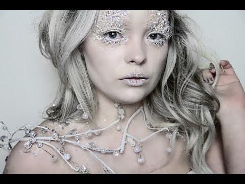 Makeup e costume regina dei ghiacci