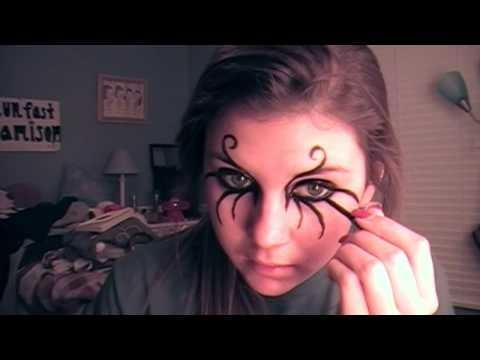 Makeup con ragnatele