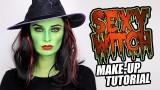 Sexy strega verde per Halloween