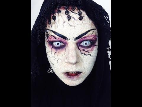 Makeup Halloween strega zombie