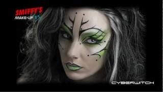 Cyber strega Halloween Make-up Tutorial