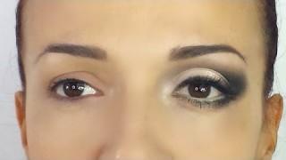 Trucco completo viso occhi piccoli marroni