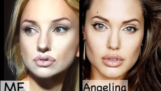 Makeup tutorial attrici : Angelina Jolie