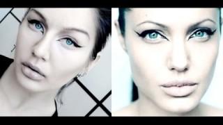 Come truccare gli occhi come Angelina Jolie