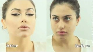 Trucco ispirato ad Angelina Jolie