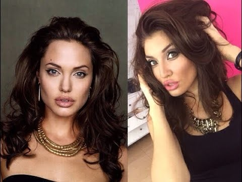 Angelina Jolie trucco tutorial
