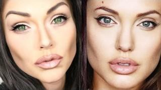 Trasformarsi in Angelina Jolie con il makeup