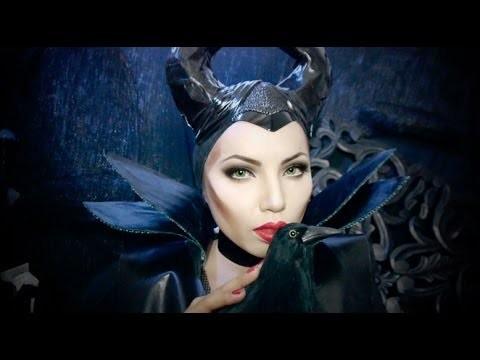 Makeup da Strega malefica Disney Angelina Jolie