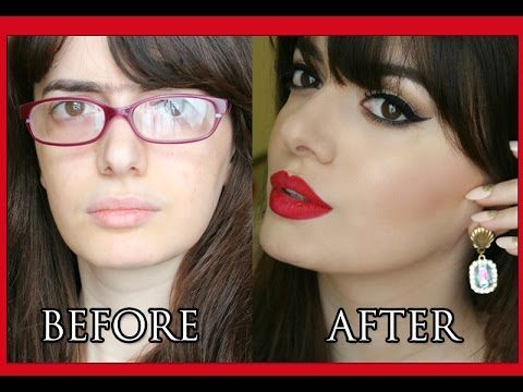 Da brutta a bella con il makeup