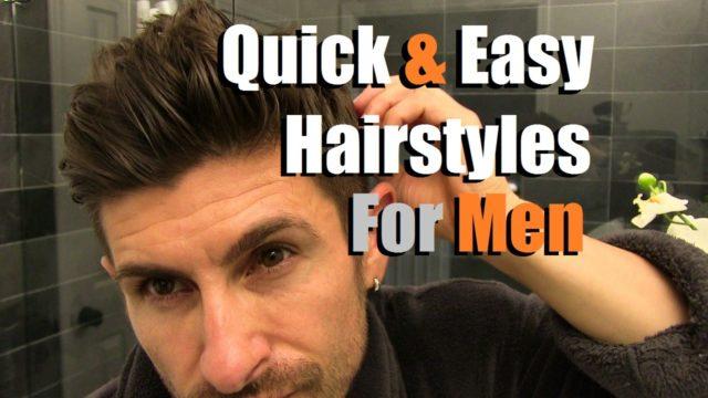 Come pettinare i capelli da uomo velocemente