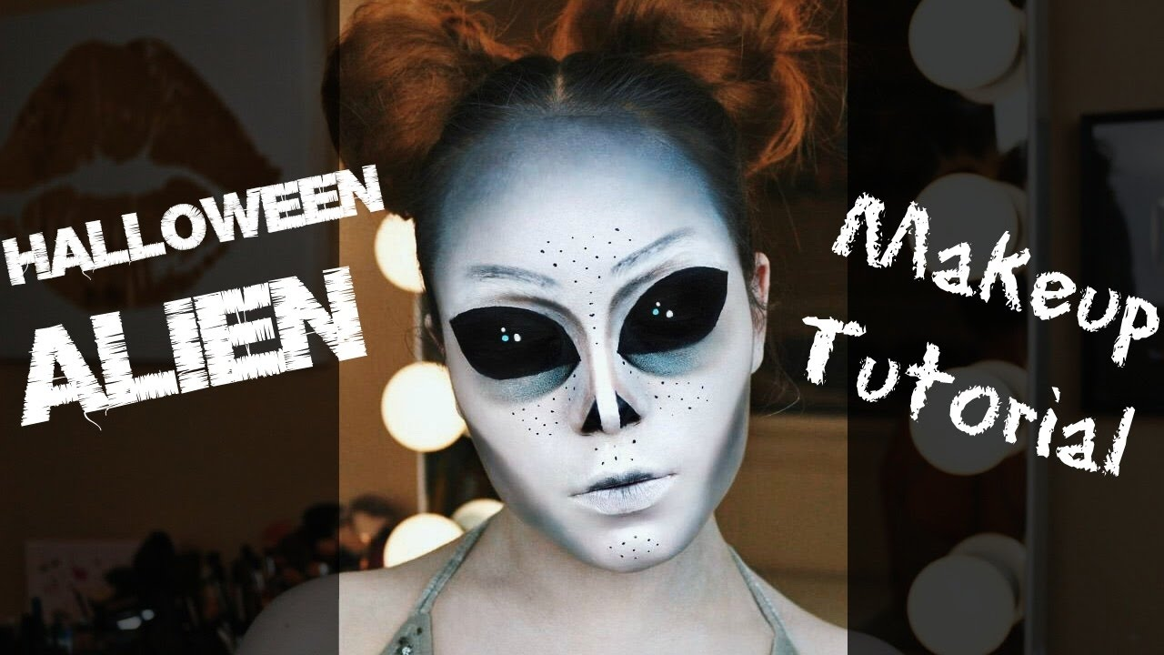 Trucco Halloween alieno