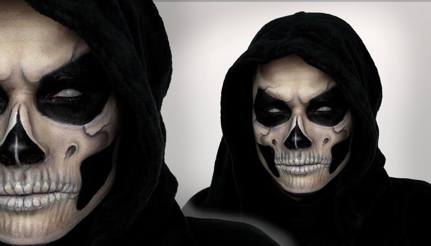 Trucco Halloween Vampiro Uomo.Trucco Halloween Uomo Videotrucco