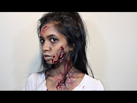 Trucco Halloween zombie veloce