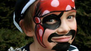 Trucco bimbi Carnevale pirata