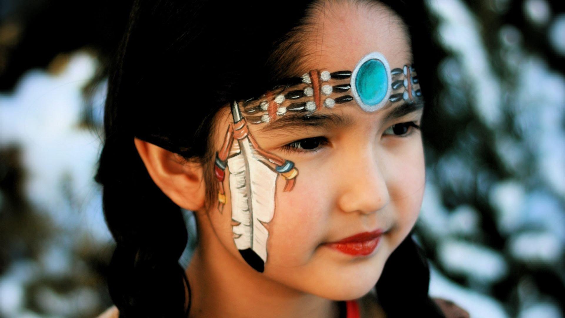 Trucco di Carnevale per bambini da indiana - VideoTrucco 8045c30eadb