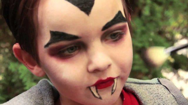 Trucco per bambini da vampiro