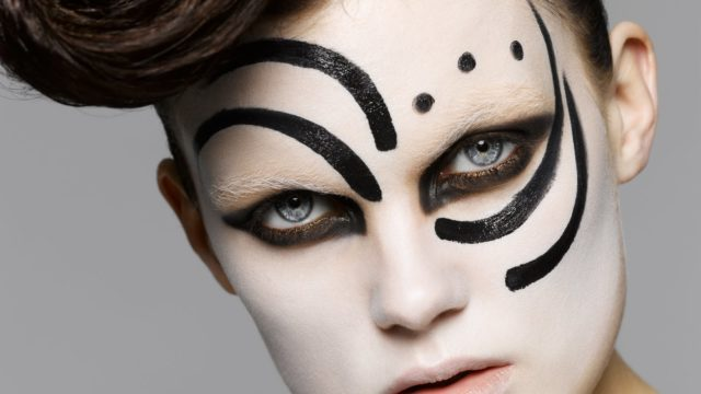 Trucco Halloween fashion idee