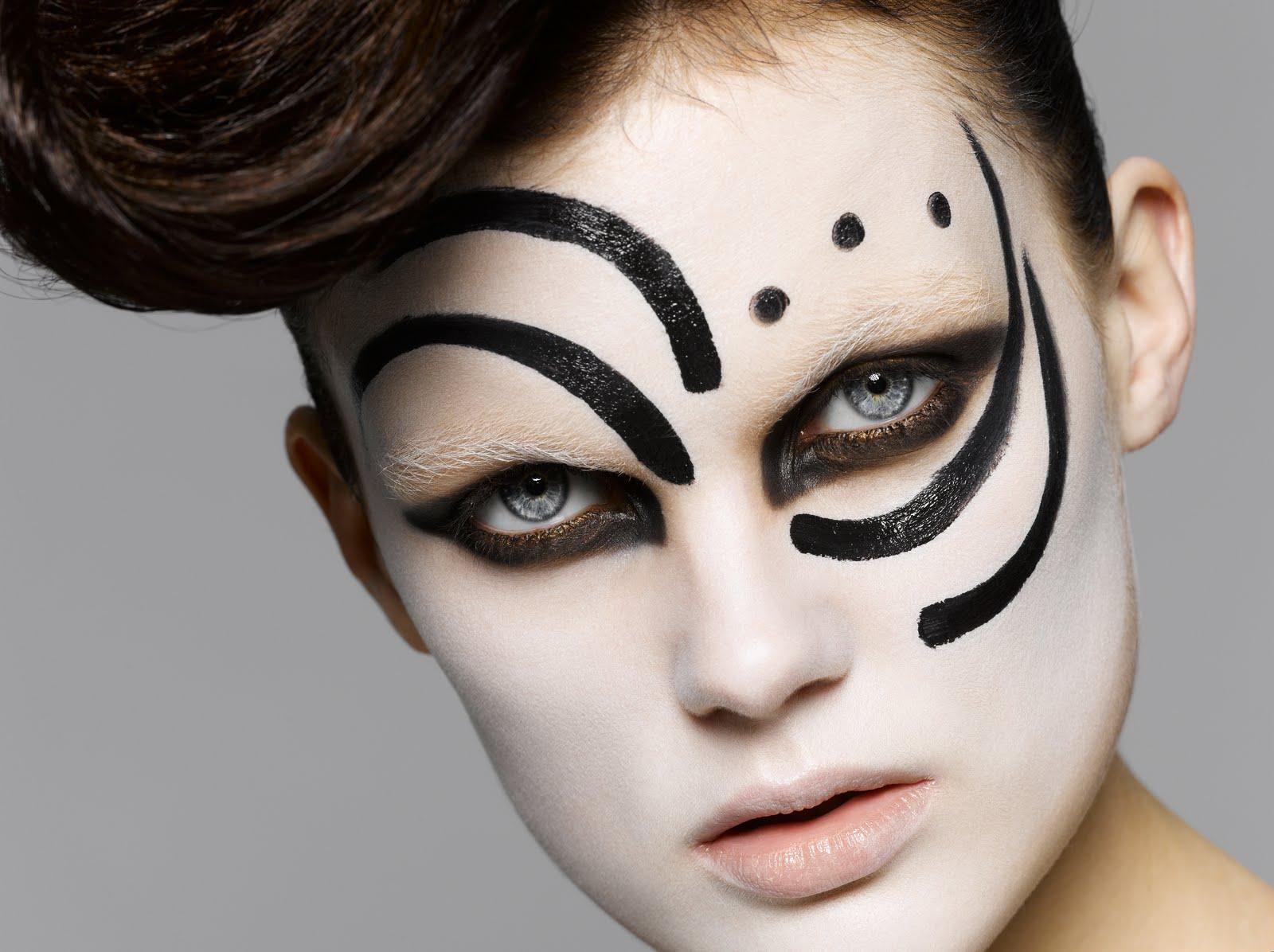 Trucco Halloween Facile.Trucco Halloween Fashion Idee Videotrucco